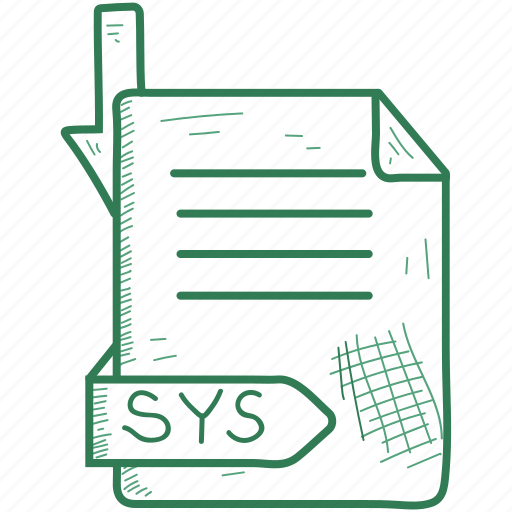 file, format, sys icon