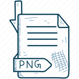 document, file, format, png icon