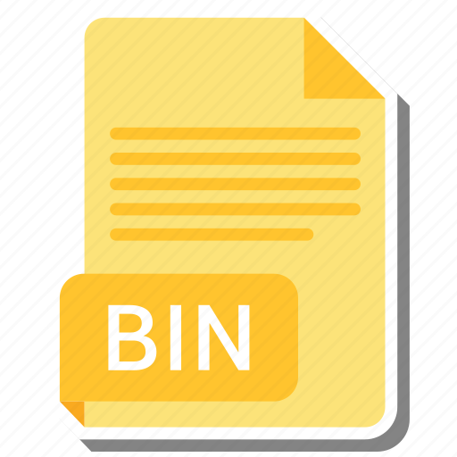 bin, document, file, file format icon