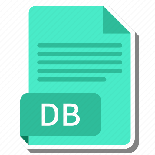 db, document, file, file format icon