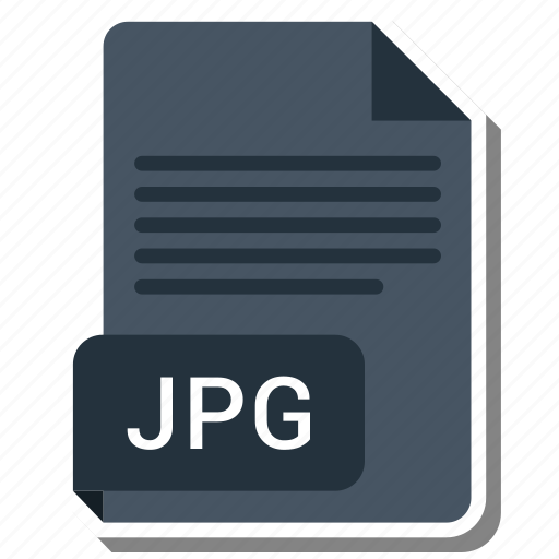 document, extension, file, folder, format, jpg, paper icon
