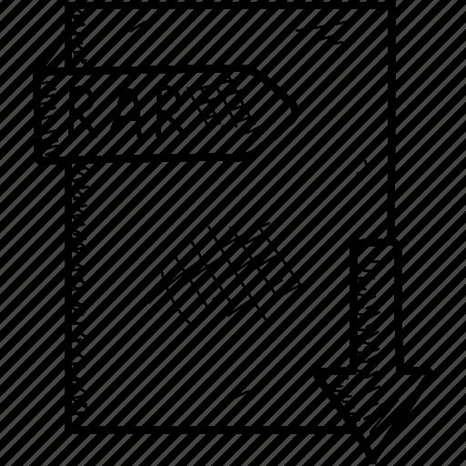 Document, file, rar icon - Download on Iconfinder