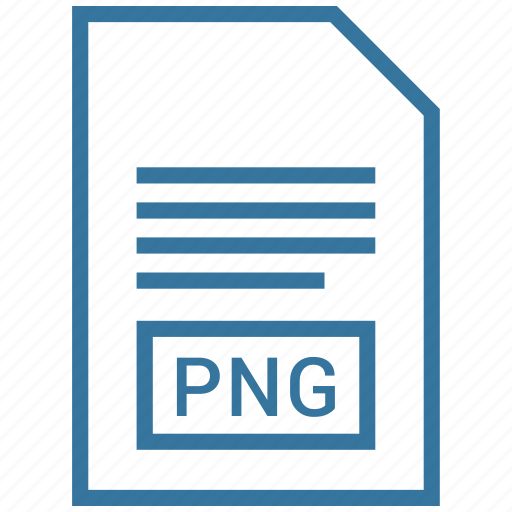 document, extension, file, png icon