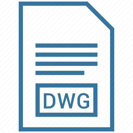 document, dwg, file, filetype icon
