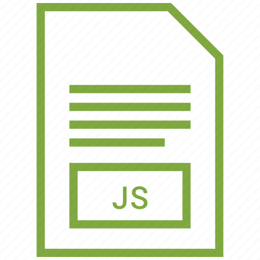 file, js, vector format icon