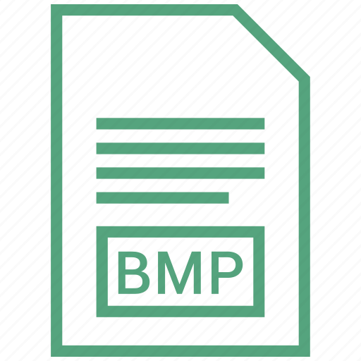 bmp, document, extension, file icon
