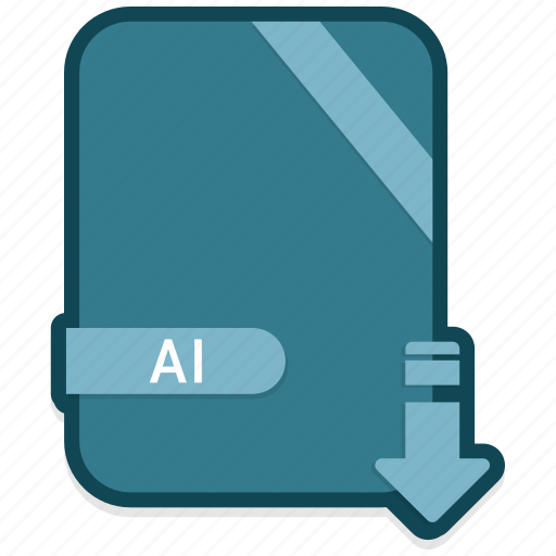 ai, document, extension, file, folder, format, paper icon