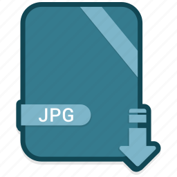 document, extension, file, jpg icon