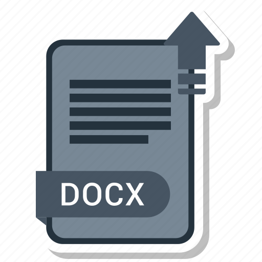 document, docx, file, format, type icon