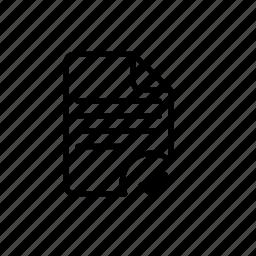 access, file, grid, left, move, right, type icon