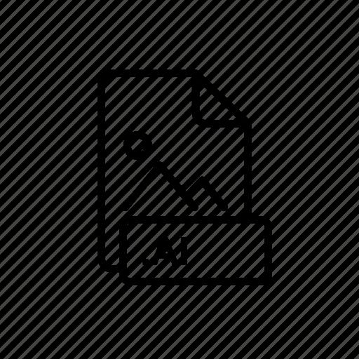 ai fie, database, drive, extension, file, guardar, save, super icon