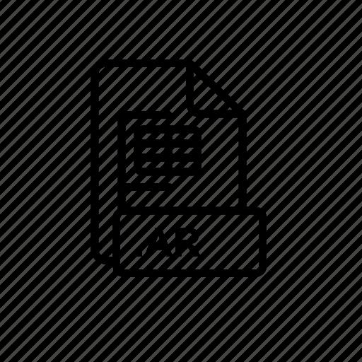 ar, blue, creative, data, file, flickr, id icon