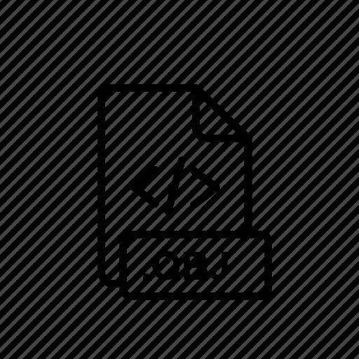 code, engine, obj, obj code file, qr, seo icon