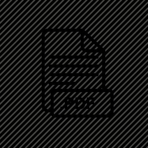 creative, documents, grid, image, pdf, pdf file, type icon
