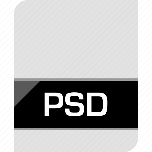 extension, file, name, photoshop, psd icon