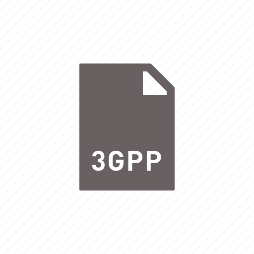 3gpp, file icon