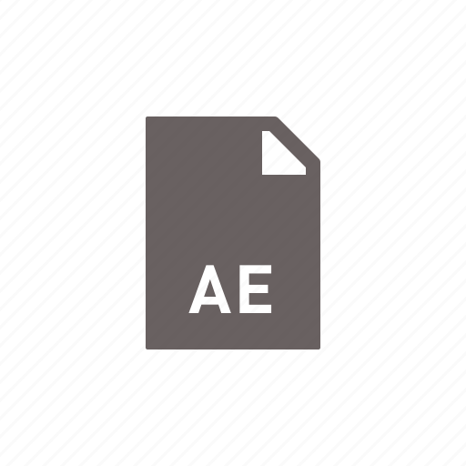 ae, file icon