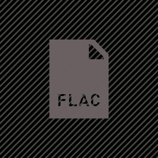 file, flac icon