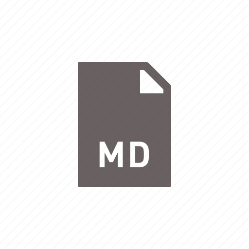 file, md icon