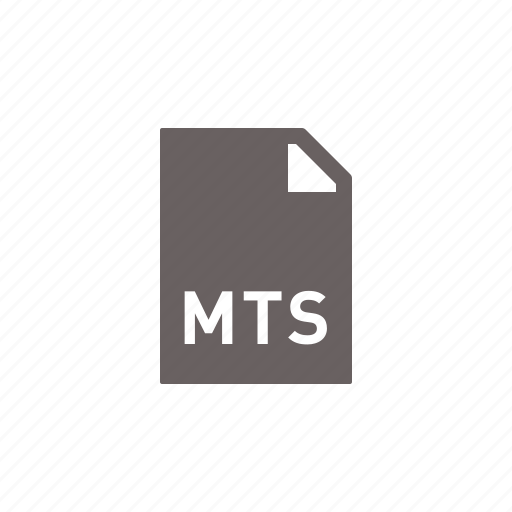 file, mts icon