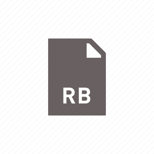code, file, programming, rb icon