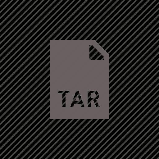 file, tar icon