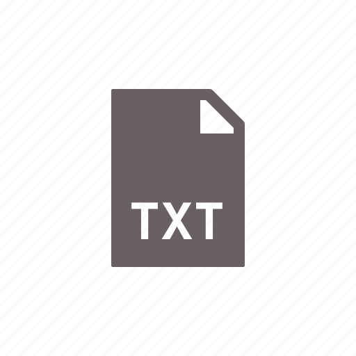file, note, text, txt icon