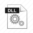 dll, extension, learning, library icon