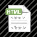 coding, development, div, html, language icon