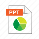 chart, diagram, powerpoint, ppt, presentation icon