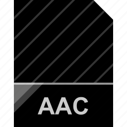 aac, epic, extension, file icon