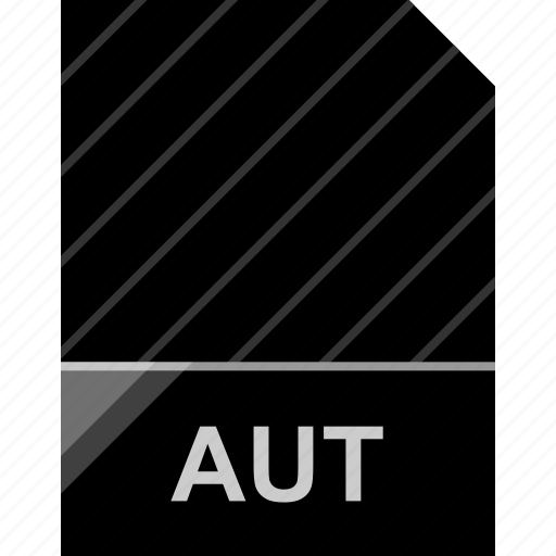 aut, extension, file, page icon