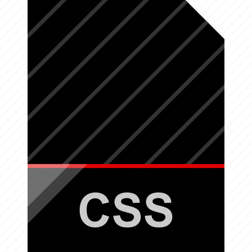 css, file, name icon