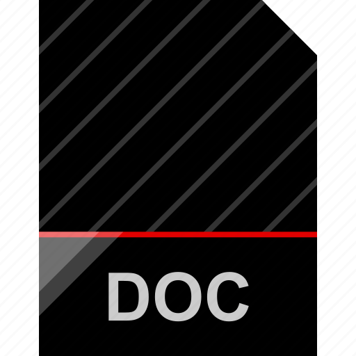 doc, file, name icon