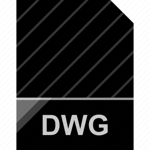 dwg, extension, file, page icon