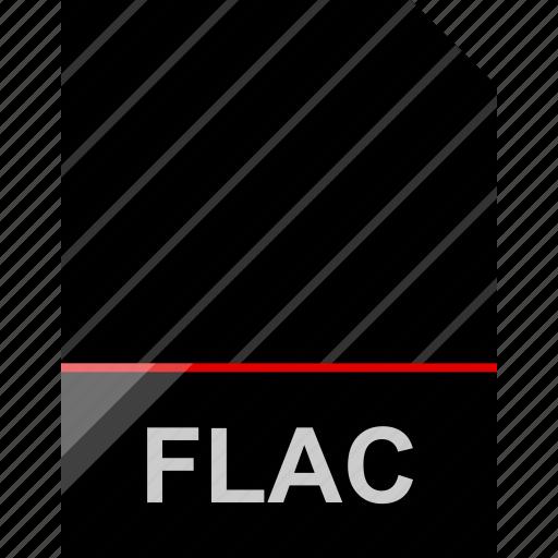 file, flac, name icon
