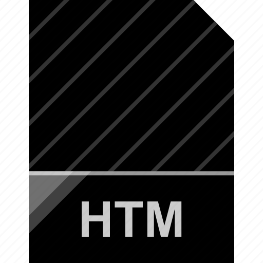 extension, file, htm, page icon