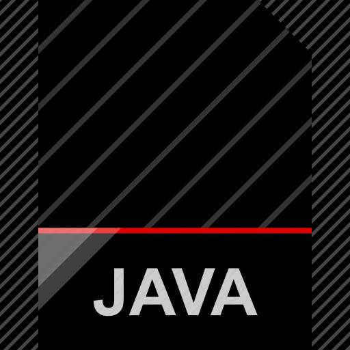 file, java, name icon