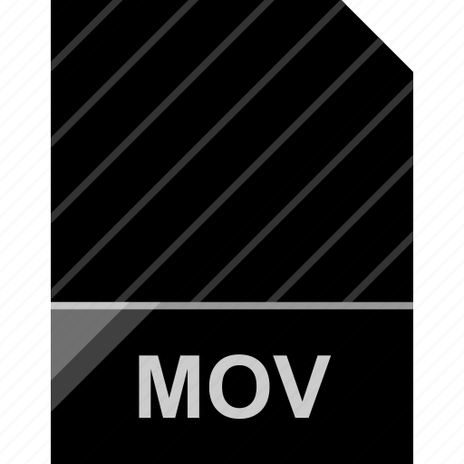 extension, file, mov, page icon