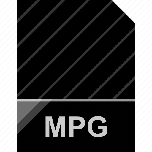 extension, file, mpg, page icon