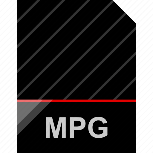 file, mpg, name icon