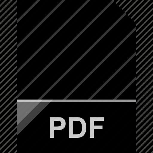extension, file, page, pdf icon