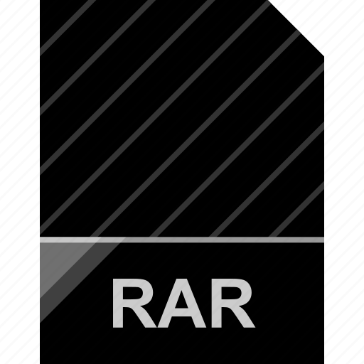 extension, file, page, rar icon