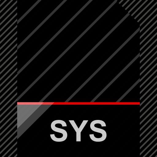 file, name, sys icon