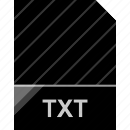 extension, file, page, txt icon