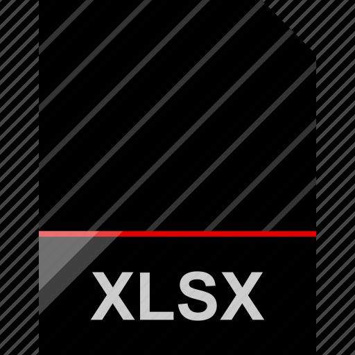file, name, xlsx icon