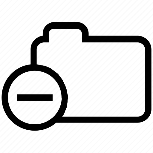 data, document, file, folder, minimize, minus, storage icon