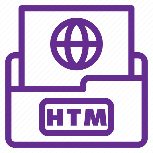 extension, extention, file type, flat color, htm, htm file, html file icon