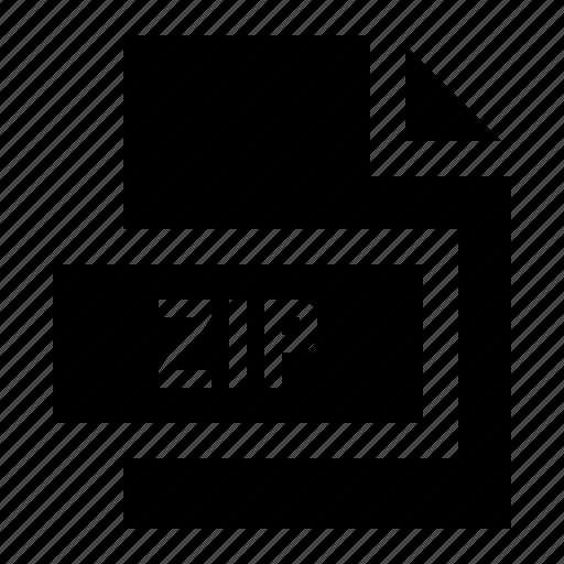 Compressed, file, format, zip icon - Download on Iconfinder