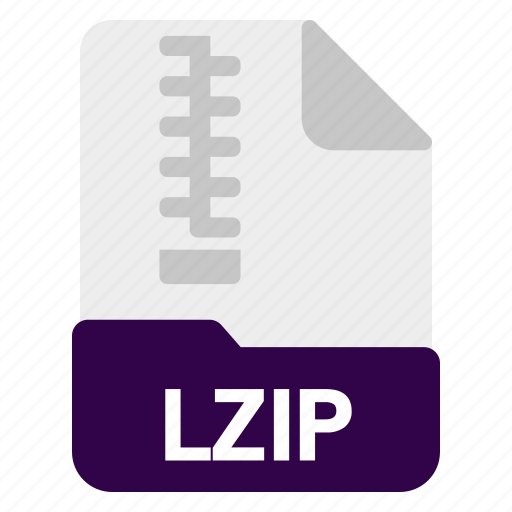 File, lzip, document, format icon - Download on Iconfinder